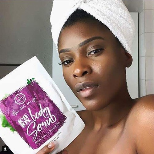 Örtte Teatox Body Scrub For Dry Skin