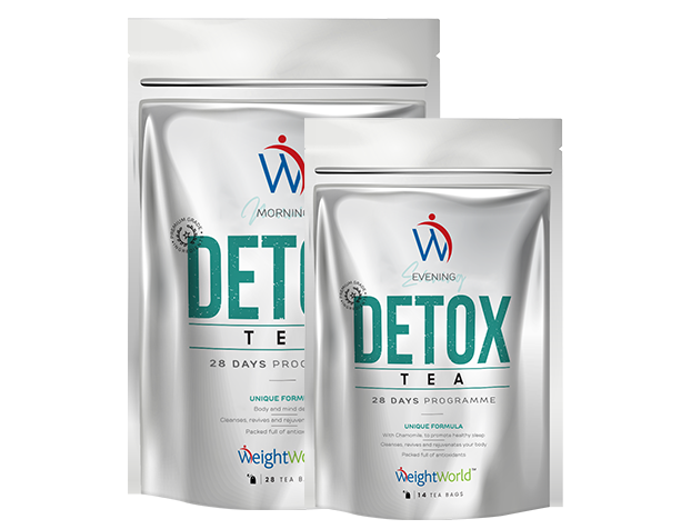 Packs of Detox and Acne Products